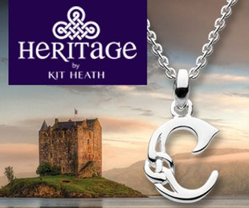 Heritage Celtic Sterling Silver Jewelry available from Eagle and Pearl Jewelers.
