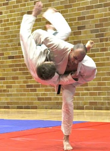 Jason throw Harai Goshi