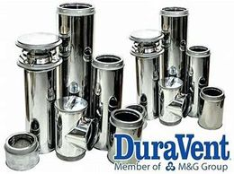 duravent gas heater flue kit parts