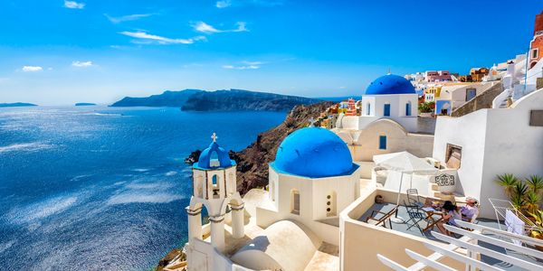 Greece, Santorini, Cyclades, Greek islands