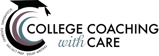 College Coaching with Care