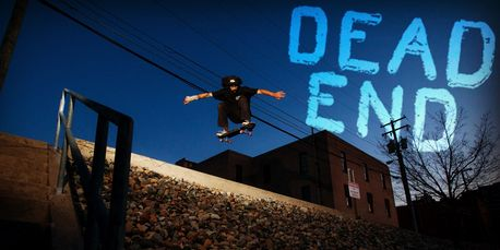 Dead End Skateboards kult rider Jordan Fuller. Big Gap Ollie.