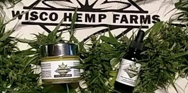 Top Quality CBD salve and oil grown and made in Wisconsin for Wisconsin