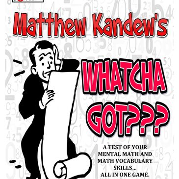 Whatcha Got? Mathopoly Games Math Book for basic facts and math vocabulary