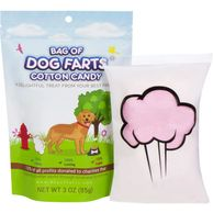 Bag Of Dog Farts Cotton Candy Funny Dog Lover Gift. Unique cheap gifts. Save up to 60% off