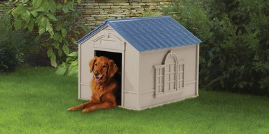 Reviews on the best Dog Houses.  Dog houses for sale.