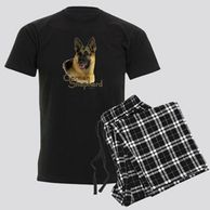 Gifts for the German Shepherd lover.  German Shepherd themed pajamas for the dog owner.