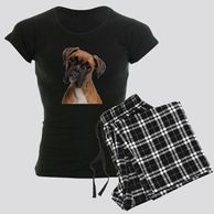 Gifts for the Boxer lover. Boxer themed pajamas for the dog owner.  Boxer pajamas