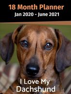 Dachshund weekly planner.  Gifts for the Dachshund lover.  Discounted gifts for the dog lover.