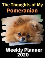 Pomeranian weekly planner.  Pomeranian gifts.  Find sale items now on gifts for the dog lover.