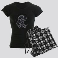 Gifts for the  Poodle  lover.  Poodle  themed pajamas for the dog owner.  Beagle items sal