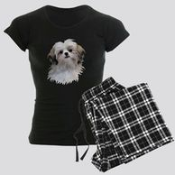 Gifts for the Shih Tzu lover. Shih Tzu themed pajamas for the dog owner.  Shih Tzu  pajamas