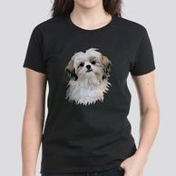 Gifts for the Shih Tzu lover.  Shih Tzu themed shirts for the dog owner.