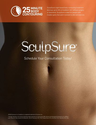 Sculpsure, fat removal, body contouring, fat reduction, scarsdale aesthetic medicine, westchester
