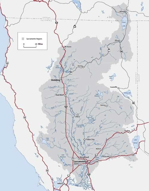upper trinity river watershed - 500×644