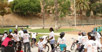 Enhancing Forward Action Annual Bike Safety Rodeo & Bike Ride Picture