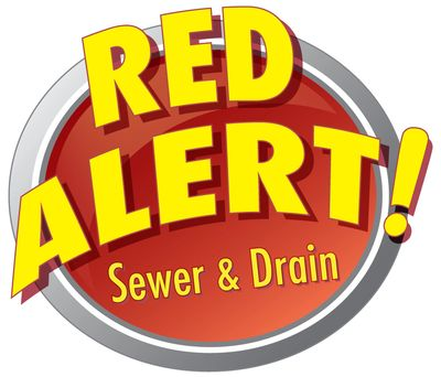 Red Alert Sewer and Drain Winnipeg Logo
