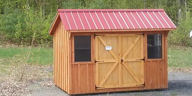 #456- Cedar Stain- Red Roof Ramp..$ 2185.