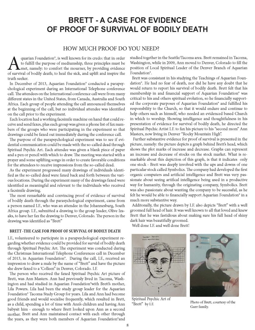 Psychic Observer article