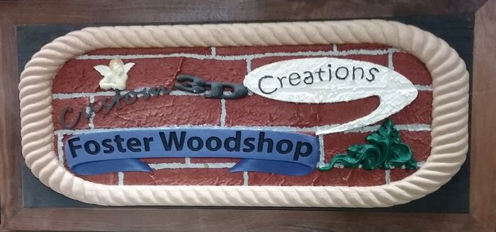 Foster Wood Shop, Also Custom Wood Artistry, is a TS Foster Sales disabled veteran owned company.