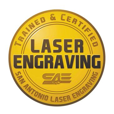 Trained and Certified Laser Engraving