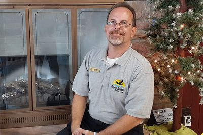 The Seaside Seabird Sanctuary's Director of Operations, Keith Wilkins.