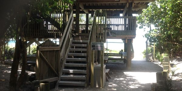 Observation Tower at the Seaside Seabird Sanctuary in Indian Shores, Florida.