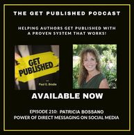 Patricia Bossano on The Get Published Podcast, Episode 210
