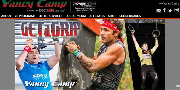 Yancy Camp Culp OCR Obstacle Course Racing Training Plans Coaching Spartan Race Tough Mudder Grip