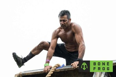 Akash Garg OCR Obstacle Course Racing chiropractor doctor spartan pics images stats background