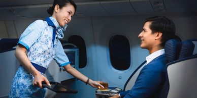 ANA Hospitality English Course, Pre-flight service, safety rules and regulations, deal with conflict