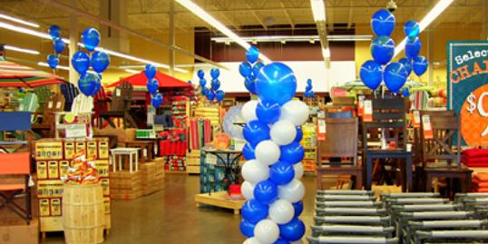 Balloon Décor for grand opening, retail store in Nashville, Nashville Balloon Shop, Balloon Delivery