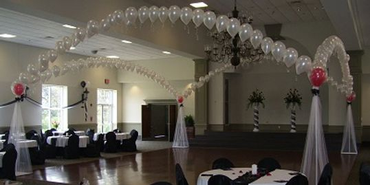 Wedding Balloon Arch, Balloon Canopy, Wedding Reception Décor, Pearl Arch for wedding in Nashville