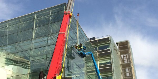 Commercial Glass Replacement Broken Failed Glass