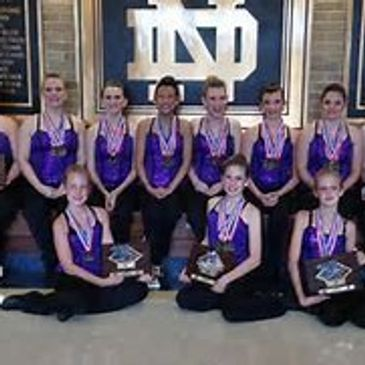 Our competitive baton twirling teams offer all levels of competition, from novice to advanced.