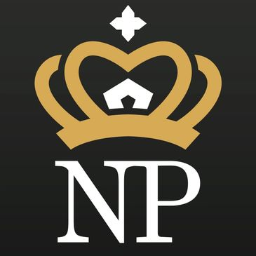 Nutrition Palace crown logo.