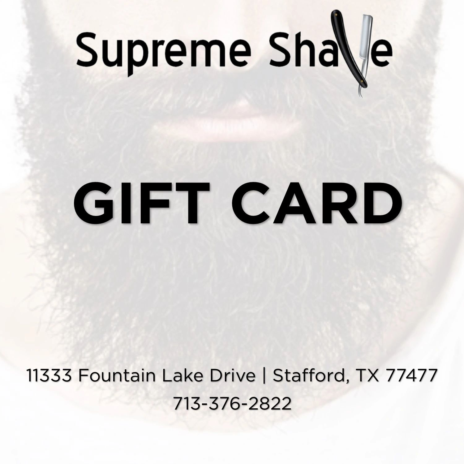 Supreme Shave Gift Card