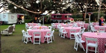 Outdoor party Ribault Club Party Planner