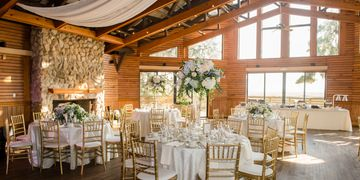 Rustic Glam Amelia Island Weddings Florida Wedding Chiavari chairs