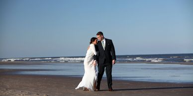 Amelia Island Florida Beach Wedding Elopement