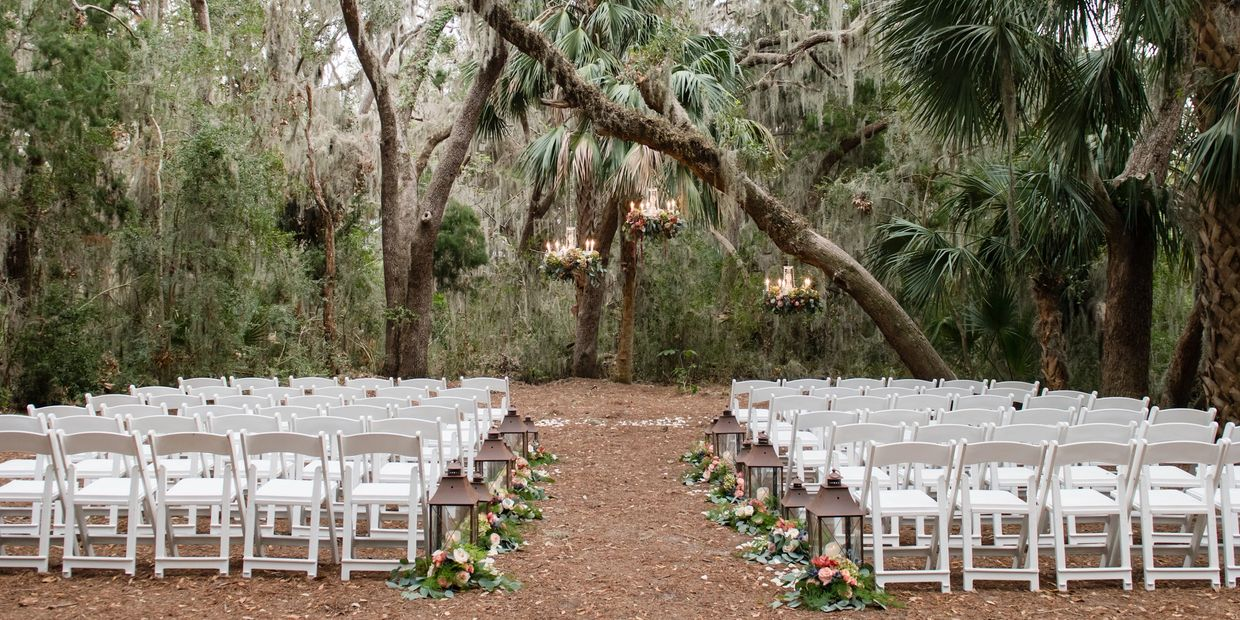 Outdoor Rustic Florida Wedding Walkers Landing