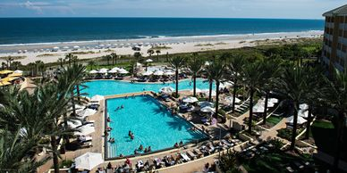 beautiful ocean view omni amelia island plantation destination management meeting planner