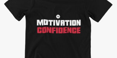Motivation and Confidence Podcast official T-shirt Tommy Danger