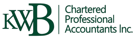 KWB CHARTERED PROFESSIONAL ACCOUNTANTS INC.