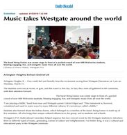 StringFusion in the news after performing at Westgate School