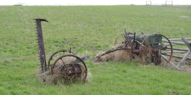 Seeder and mower