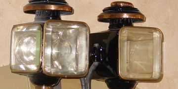 Carriage candle  lamps by M.T. Gleeson
