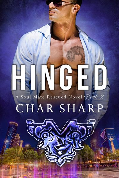 HINGED, Soul Mate Rescued, Char Sharp, Romantic Suspense, mystery, cyberthriller, abduction, amnesia