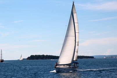 Sailing on Great Lakes