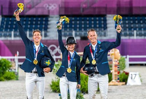 Sweden Captures Team Gold (CREDIT: FEI/ARND BRONKHORST)